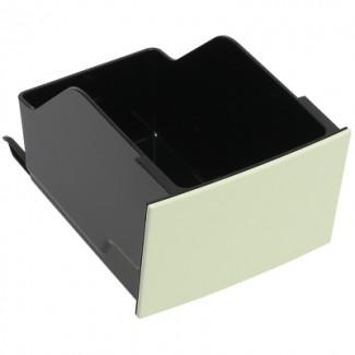 Контейнер для кофейной гущи DeLonghi с крышкой светло-зеленого цвета