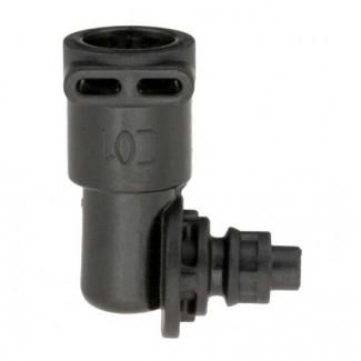 Соединительная скоба 90° для электромагнитного клапана DeLonghi