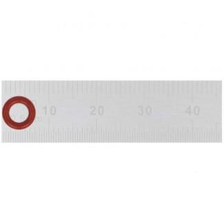 Уплотнительное кольцо 4.00X1.50  Jura красное