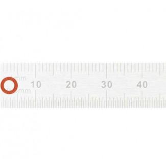 Красное силиконовое уплотнительное кольцо 3х1