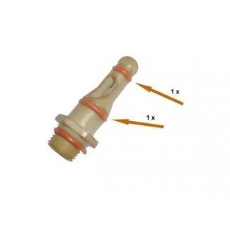 Комплект уплотнителей штуцера -2шт