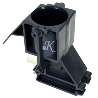Серый цилиндр заварного блока 38,5