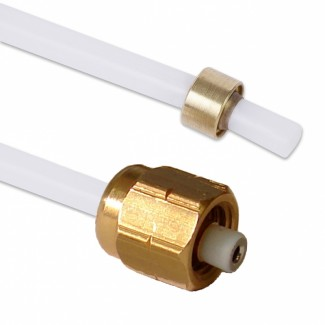 Тефлоновый шланг (L = 235 мм) зажимное соединение / винтовое соединение